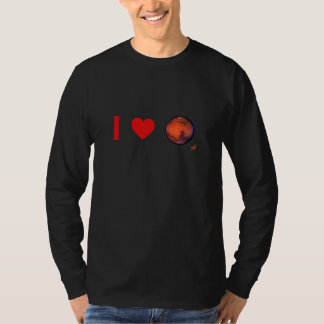 I Heart Mars Long Sleeve T-Shirt
