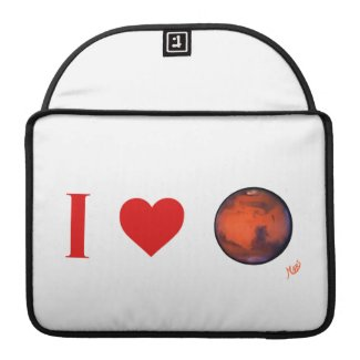 I Heart Mars MacBook Pro Sleeve