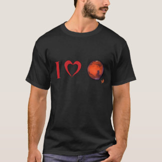 I Heart Mars Men's T-Shirt