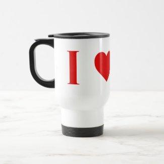 I Heart Mars Travel Mug