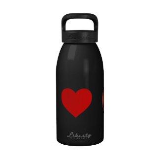 I Heart Mars Water Bottle
