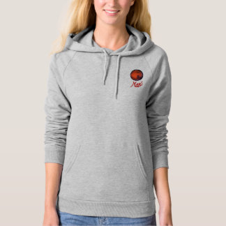 I Heart Mars Women's Fleece Pullover Hoodie