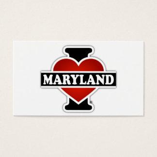 I Heart Maryland Business Card