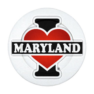 I Heart Maryland Button Covers
