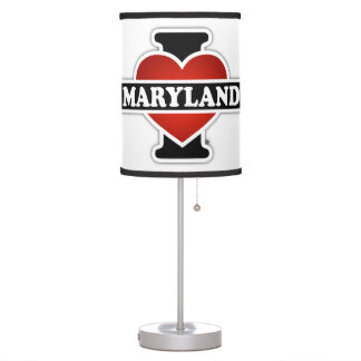 I Heart Maryland Table Lamps