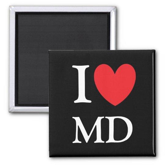 I Heart Maryland Magnet