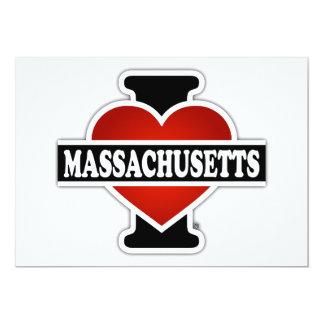 I Heart Massachusetts Card