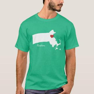 I Heart Massachusetts - Customizable City T-Shirt