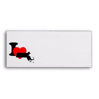 I Heart Massachusetts Envelope