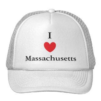 I Heart Massachusetts Trucker Hat