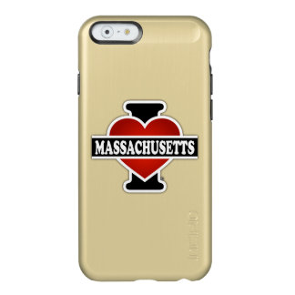 I Heart Massachusetts Incipio Feather Shine iPhone 6 Case