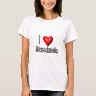 I Heart Massachusetts T-Shirt