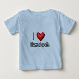 I Heart Massachusetts Tee Shirt