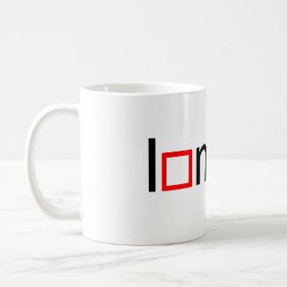 I heart math classic white coffee mug
