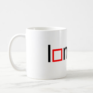 I heart math coffee mug