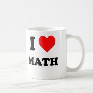 I Heart Math Coffee Mugs