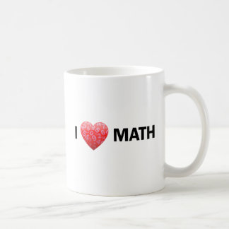 I Heart Math Mug