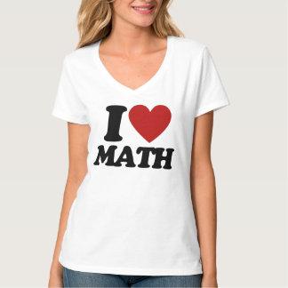 I heart math shirts