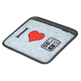 I Heart Mathematics Sleeve For iPads