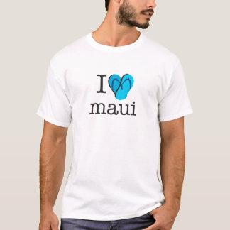 I Heart Maui Flip Flops T-Shirt