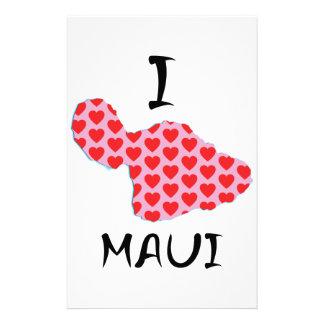 I heart Maui Stationery