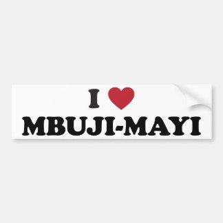 I Heart Mbuji-Mayi Congo Bumper Sticker