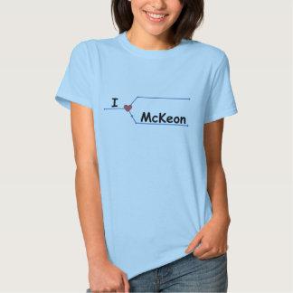 I heart mckeon T-Shirt