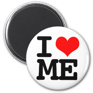 I Heart Me 2 Inch Round Magnet