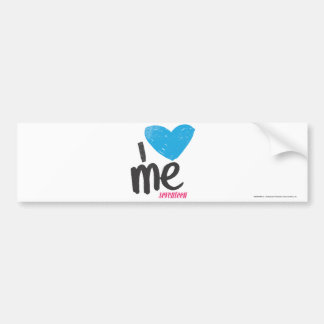 I Heart Me Aqua Bumper Sticker