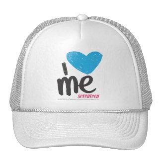 I Heart Me Aqua Hats