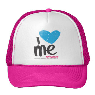 I Heart Me Aqua Hat