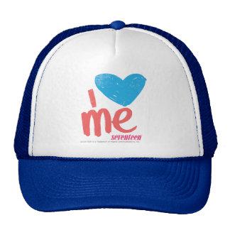 I Heart Me Aqua/Pink Trucker Hat