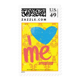 I Heart Me Aqua-Pink Stamps