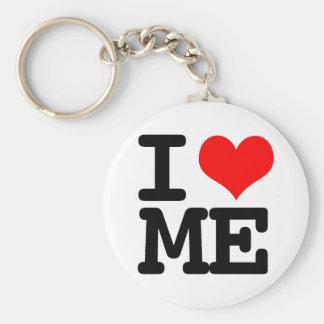 I Heart Me Keychain