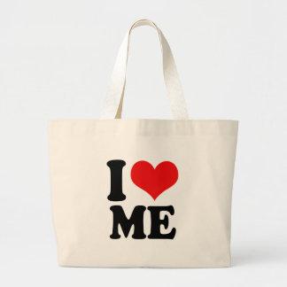 I Heart Me Large Tote Bag