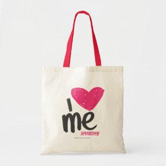 I Heart Me Magenta Tote Bag