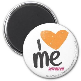 I Heart Me Orange Magnets