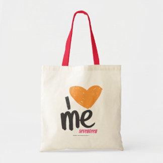 I Heart Me Orange Tote Bag