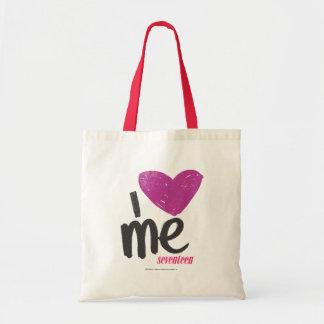 I Heart Me Purple Tote Bag