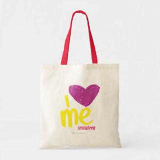 I heart Me Purple/Yellow Tote Bag