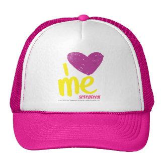 I heart Me Purple/Yellow Trucker Hat