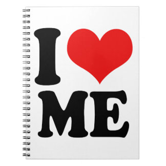 I Heart Me Spiral Notebook