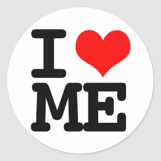 I Heart Me Stickers