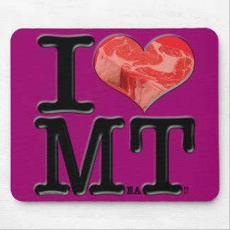 I (heart) MeaT Mousepad
