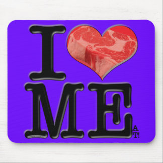 I (heart) MEat Mousepads