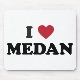 I Heart Medan Indonesia Mouse Pad