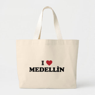 I Heart Medellín Columbia Canvas Bags