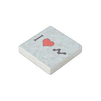 I Heart Media Pr Stone Magnet