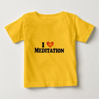 I (heart) Meditation - Lite Multi-Products Baby T-Shirt