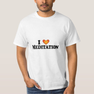 I (heart) Meditation - Lite Multi-Products T-Shirt